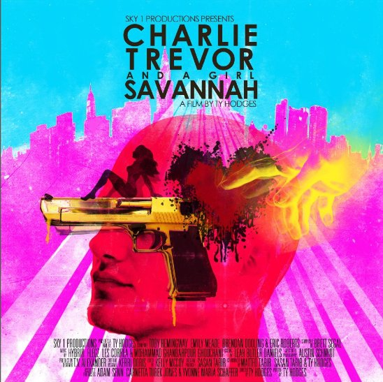 Charlie, Trevor and a Girl Savannah (2015)