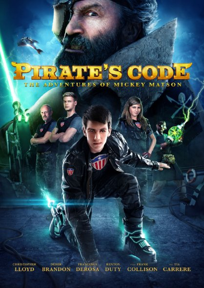 Pirate's Code: The Adventures of Mickey Matson (2014)